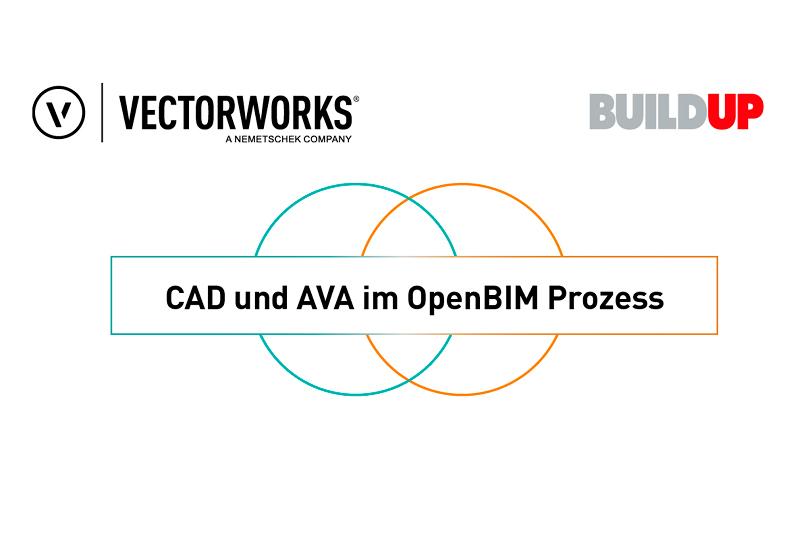 BIM im klarTEXT - Webinar CAD und AVA mit Vectorworks und BUILDUP